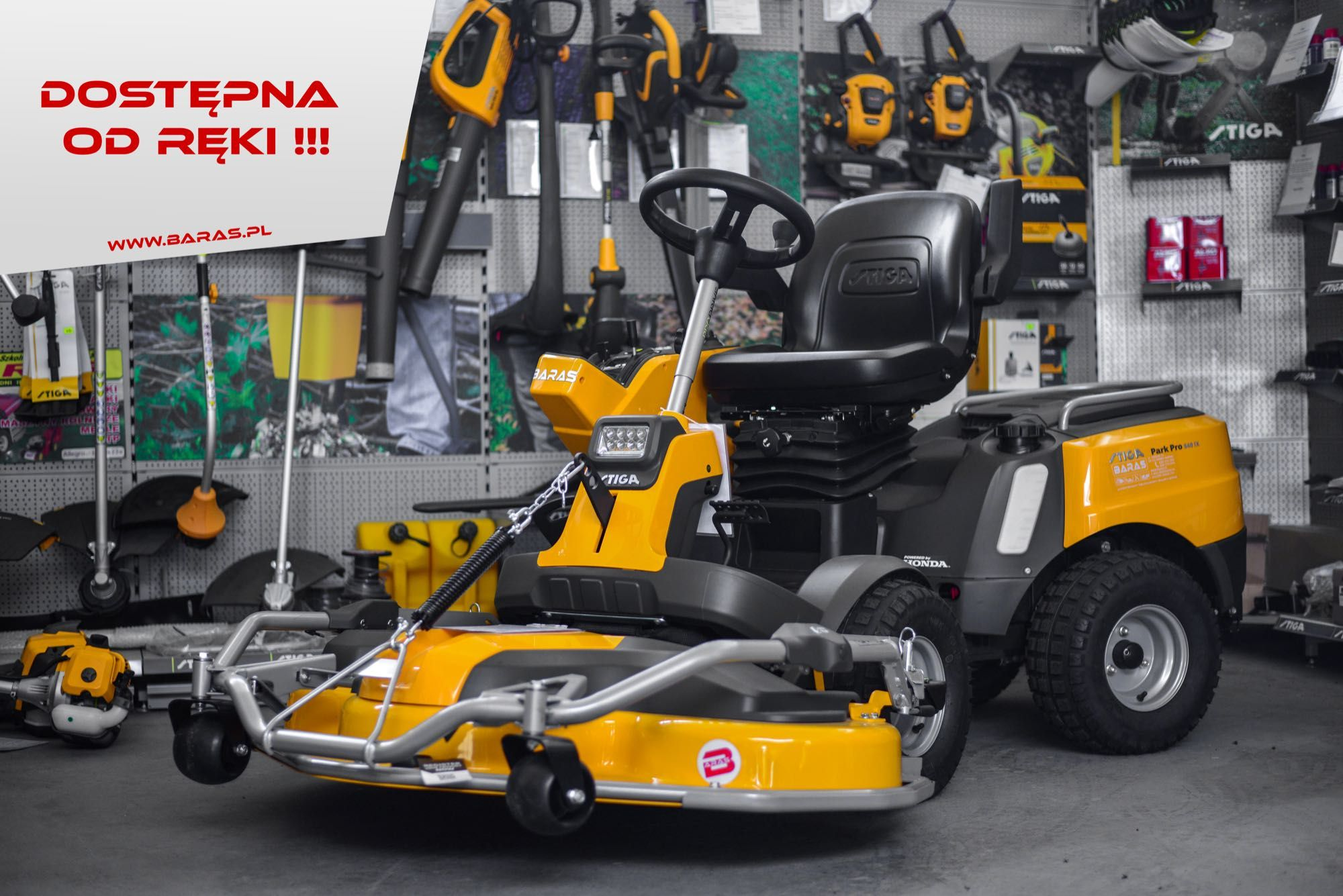 Traktorek ogrodowy Stiga Park Pro 540 IX