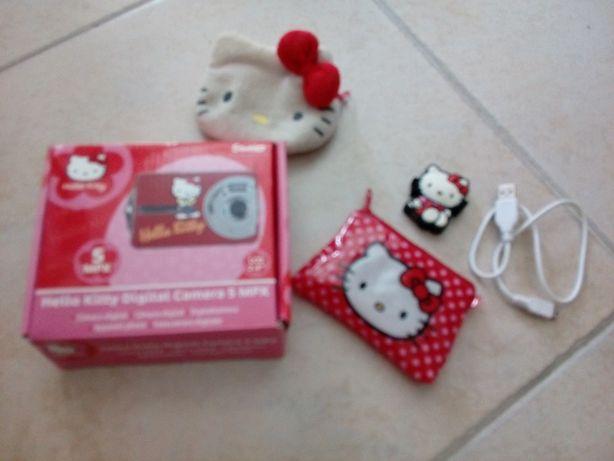Câmara Fotografica + MP3 Hello Kitty