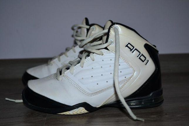 Кожанные кроссовки AND1 размер 32