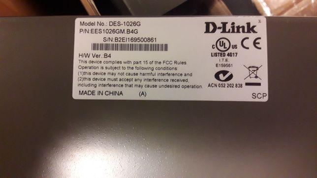 Przełącznik zewnętrzny D-Link DES (DES-1226G) 24 porty
