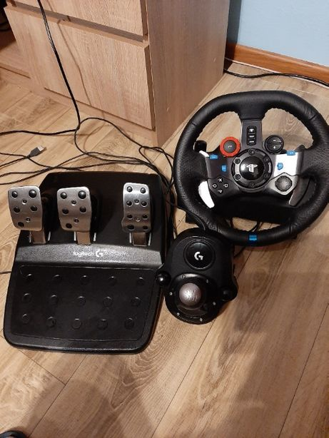 Kierownica Logitech G29+ shifter ps4, ps3 i pc