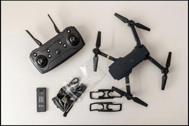 Drone E58 4K (c/mala transporte + extras) (novo)