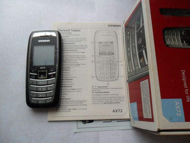Мобильный телефон SIEMENS AX 72