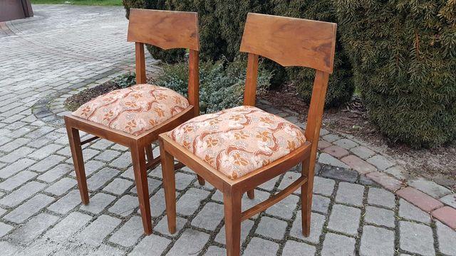 Stary Stół i 4 krzesła retro vinage