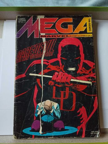 Komiks Mega Marvel Daredevil the man without fear