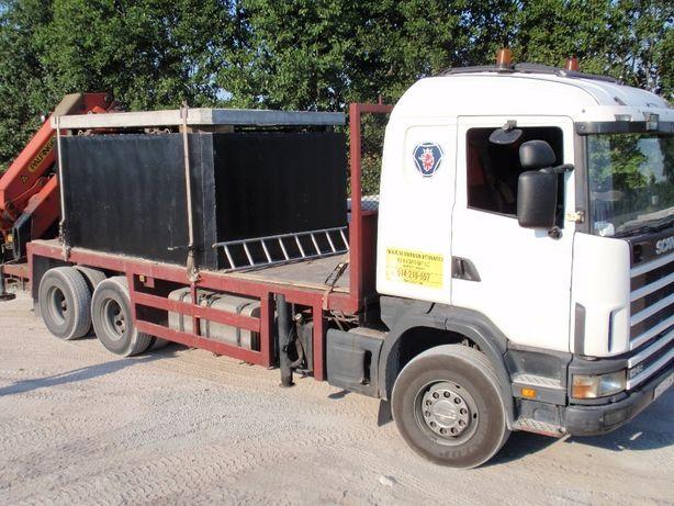 szamba szambo zbiorniki betonowe 10 8 6 5 4 transport montaż Warszawa