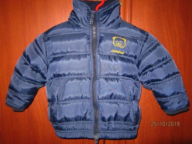 Зимняя куртка пуховик Campus Польша 74 размер 1 -1,5 лет на мальчика