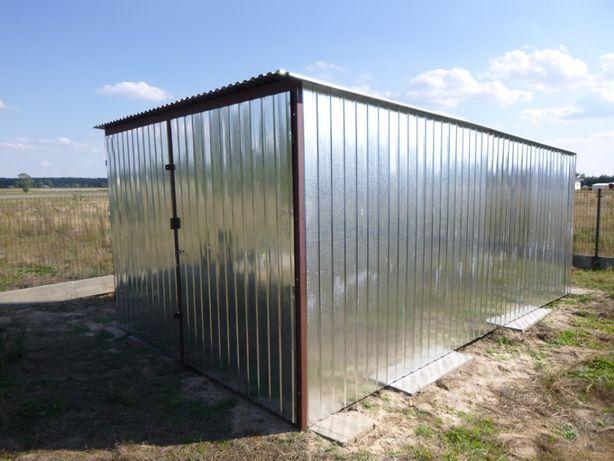 Garaż Blaszany Budowa Blaszak na budowę WZMOCNIONY Garaże PRODUCENT