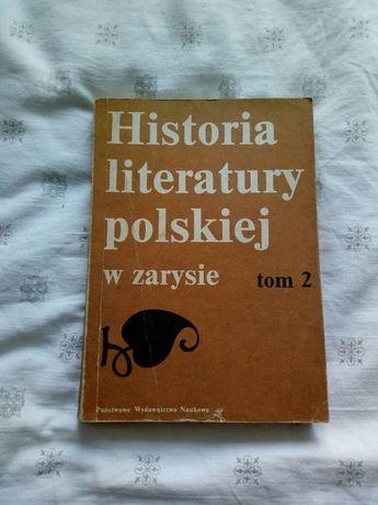 Historia literatury polskiej w zarysie Tom 2 PWN 1987