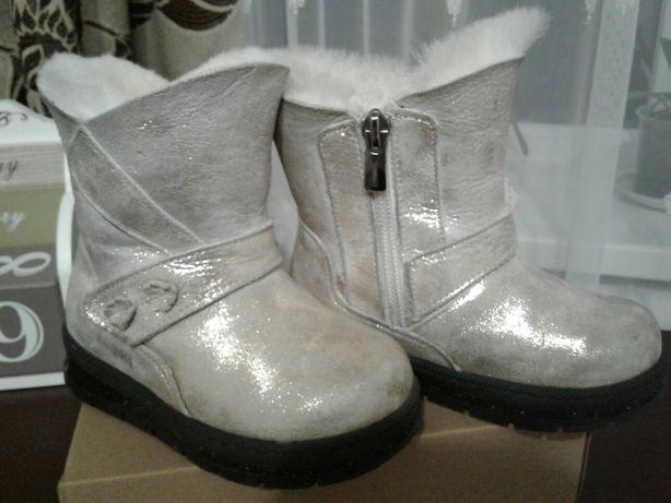 Зимові шкіряні черевички Tiflani