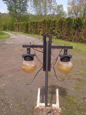 Lampy ogrodowe -lub zamiana
