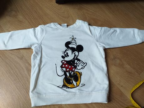 Bluza hm r.74 minnie mouse