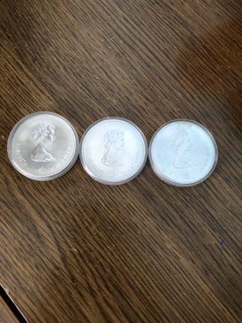 Продам монети. Натуральне срібло.