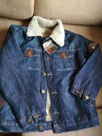 Новая джинсовая демисезонная куртка, Турция, 146-152