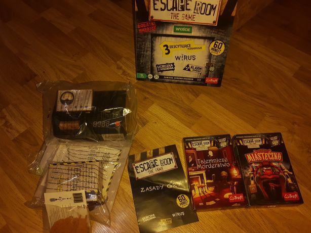 Gra escape room i dodatki wesołe miasteczko,tajemnicze morderstwo