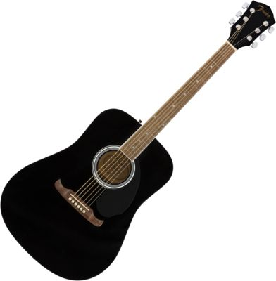 Gitara akustyczna Fender FA-125 BK +pokrowie+tuner