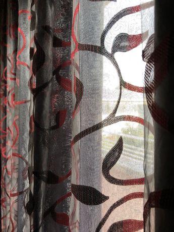 4 cortinados cinzentos