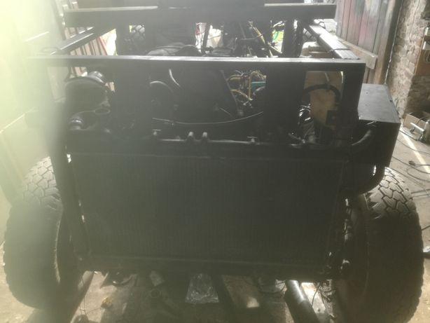 Traktor Sam 4x4.