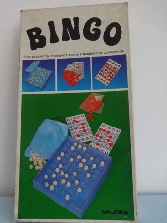 Jogo Antigo Bingo - Majora