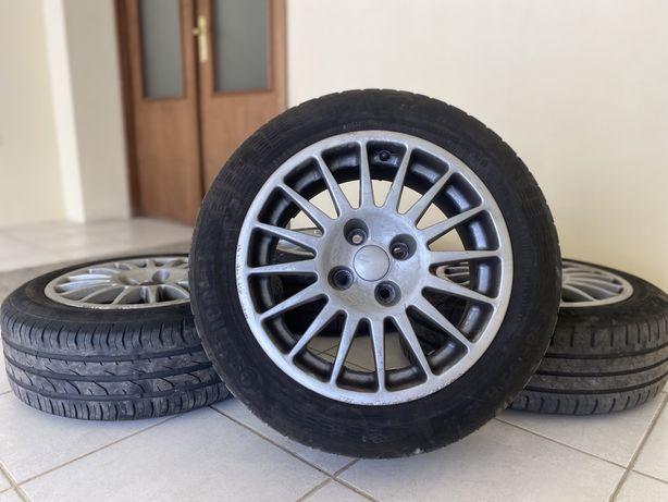 """Jantes 15"""" 4x100 OZ originais Renault Clio Seat Ibiza Opel Corsa vw"""
