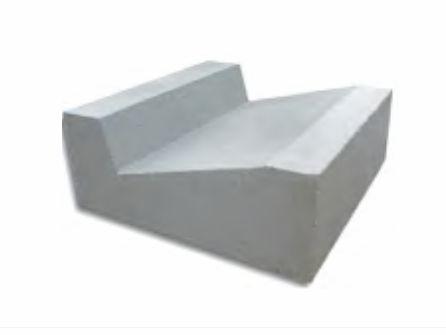 Korytka ściekowe betonowe 18x35x50 ściek trójkątny odpływ wody koryto