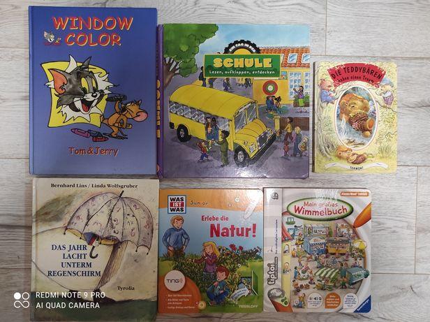 Німецькою книги для дітей,віммельбух,з віконцями