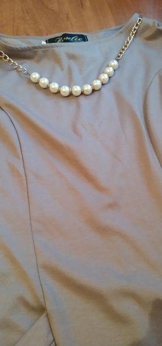 Платье нарядное с бусинами Днепр - изображение 1