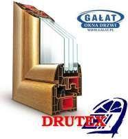 1,5x1,5 okno PCV DRUTEX kupisz w firmie GAŁAT fabryczny przedstawiciel Nowy Sącz - image 1