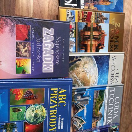 Książki przyrodniczo-naukowe.