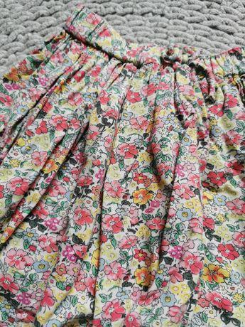 Spódniczka next 98cm kwiaty bawełna piękna