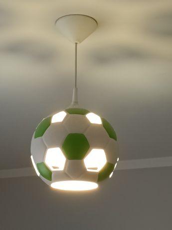 Żyrandol piłka zielona