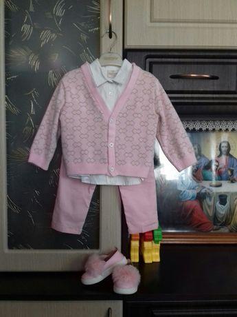 Нарядный костюм тройка, комплект, набор
