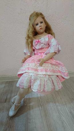 Коллекционная фарфоровая кукла от Hildegard Gunzel