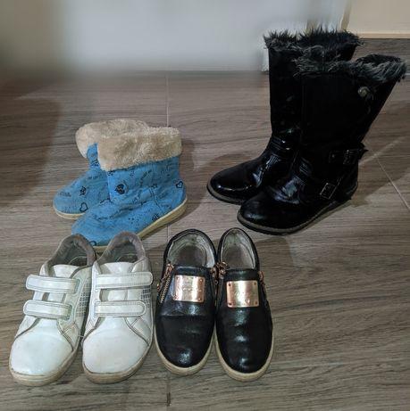 Обувь для девочки ботинки кроссовки уги сапоги