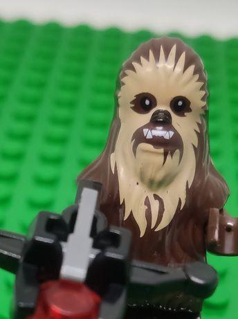 Figurka Ludzik Chewbacca Star Wars Gwiezdne Wojny Klocki Zabawka Kolek