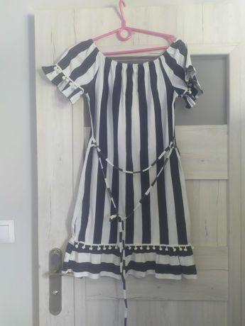 Sukienka midi xl  hiszpanka