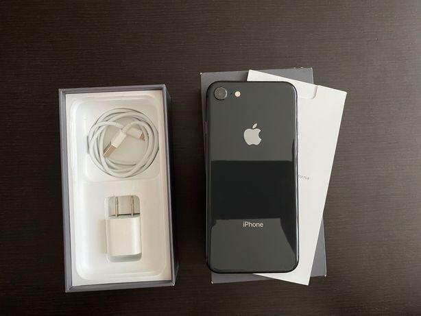iPhone 8 Space Gray 64gb NEVERLOCK