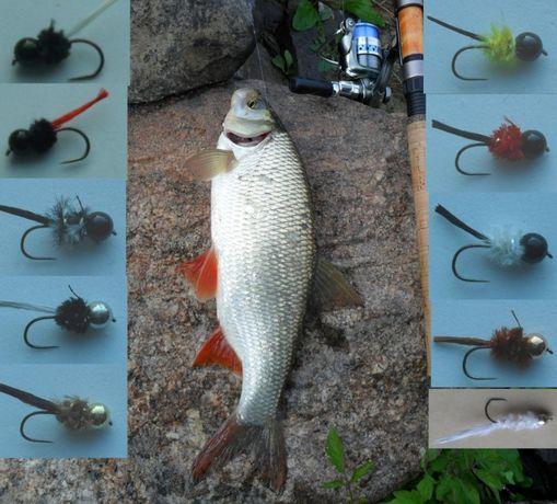 Mikro jigi to przyjemnść łowienia - 10 sztuk