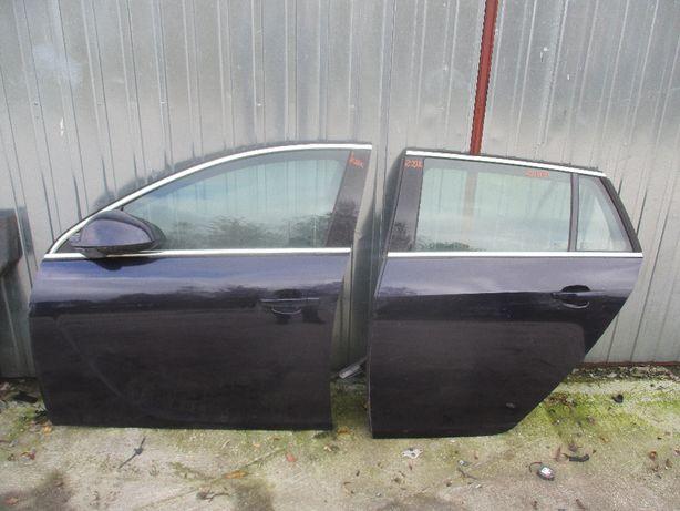 Opel Insignia lewe przednie drzwi lewe tylne kombi Z22K cena za kompl