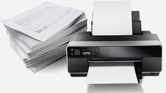 Цветная печать документов / роздруковування, друк документів