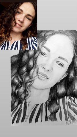 Малюю портрети