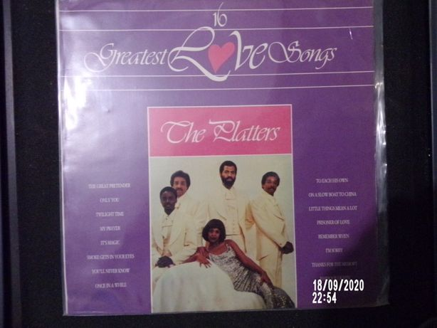 The Platters - 16 greatest love songs