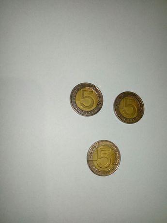 Destrukt moneta 5 zł 2010 rok i 2009 rok