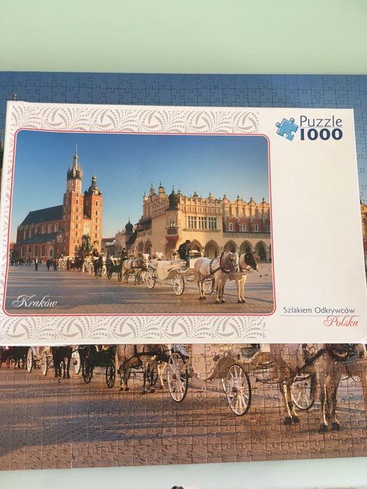 Puzzle Trefl 1000el / sprzedam lub wymienie Warszawa - image 1