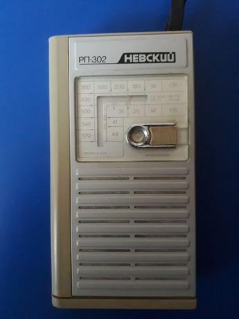 Радиоприемник Невский  рп 302 ссср