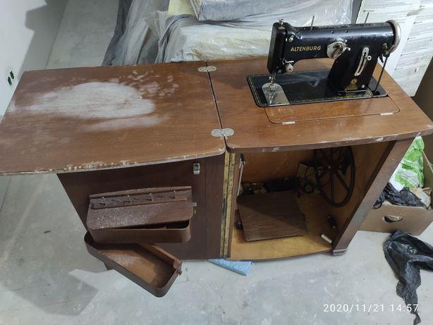 Довоенная немецкая швейная машина