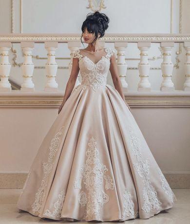 Салон Діамант Весільна сукня з посиленим корсетом для стрункості