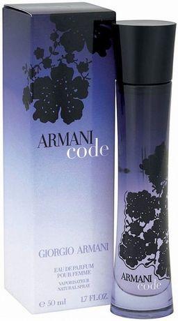 Giorgio Armani, Code for Women, oryginalny, 75 ml, nowy w foli
