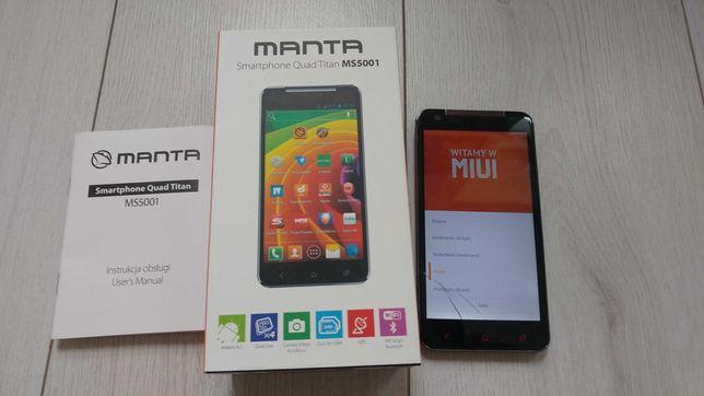manta smartphone Quad Titan MS5001 właściwie to htc.