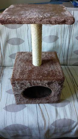 Drapak dla kota brązowy